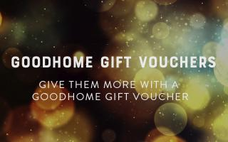 Goodhome gift vouchers